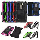 Phone Case For LG Escape 3 / LG Phoenix 2 4g LTE Rugged Cover Holster Belt Clip