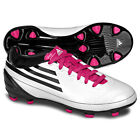 adidas F10 TRX FG 2010 Soccer Shoes G17684 Brand New White / Black / Pink
