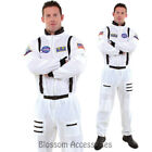CL877 Astronaut White Mens Space Camp Suit Nasa Halloween Fancy Dress Up Costume