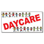 Daycare Red Children Pics 13 Oz Vinyl Banner Sign With Grommets