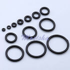 100X 1.2-20mm Black Rubber Replacement O-Rings For Plugs Expander Stretcher M*