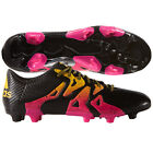 adidas X 15.3 TRX FG / AG 2015 Soccer Shoes Cleats New Black / Gold / Pink