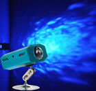 Mini  Blue Watermark RGB LED Water Wave Effect Stage Light lighting for Party DJ