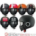 SHARK RAW STRIPE BLANK OPEN FACE MILITARY STYLE CUSTOM CRUISER OPEN FACE HELMET