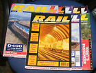 RAIL MAGAZINES VARIOUS ISSUES 1990