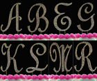 Large Gold Crystal Covered Monogram Cake Topper Cake Letter A-Z any Initial