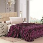 "Double Sided 79"" x 95"" Super Plush Animal Print Mink Blanket - in 8 Styles"