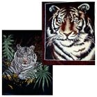 "Brand New Tiger 79"" x 96"" Super Plush Faux Mink Blanket - in 2 Styles"