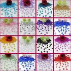 5000 Crystals 6.5mm Diamond Acrylic Confetti Table Scatter Wedding Decor Colours