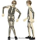 CK727 Skeleton Skin Suit Boys Skull Boned Child Halloween Fancy Dress Up Costume