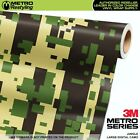 LARGE DIGITAL JUNGLE Camouflage Vinyl Car Wrap Camo Film Sheet Roll Adhesive