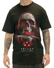 Sullen Clothing Robertson Skull Tattoo T Shirt  Mens Black Red Tee Goth
