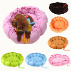 New Pet Puppy Dog Cat Soft Nest Bed Mat S M Size 6 Color Pick Cord Pull Adjust