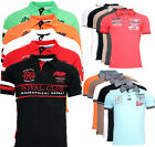 Geographical Norway Herren Polo Shirt Pique Sommer Kurzarm Polo Club  T-Shirt