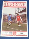 ARSENAL VARIOUS HOME PROGRAMMES 1982-1983