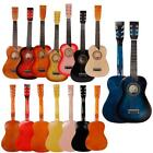 "25"" Children Kids 6 String Acoustic Guitar Beginner Practice Musical Instrument"
