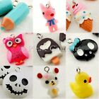 18 Kawaii Owl/Ice Cream/Pencil/Skull Head/Teddy/Dog/Rubber Duck Charm
