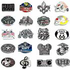 BBUM0356 MANY STYLES VEHICLE / MUSIC / OCCUPATION / ANIMAL ALLOY BELT BUCKLE