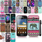 For Samsung Galaxy Ace 2 I8160 Cute Design TPU SILICONE Rubber Case Cover + Pen