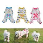 Range Pet Dog Puppy Cotton Clothes Soft Pajama Cartoon Jumpsuit Apparel CHOICE