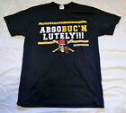 Pittsburgh Pirates ABSOBUCNLUTELY Black t shirt