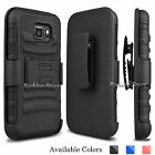 Samsung Galaxy S7 Active G891 Stand Case Armor Impact Cover w/ Belt Clip Holster