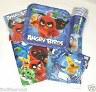 Angry Birds Party Plates Cups Napkins Tablecover Tableware  Bags Banners Kids