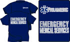 PARAMEDIC EMERGENCY MEDICAL SERVICES Cotton T-Shirts WITH REFLECTIVE IMPRINT