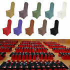 Chair Covers Lycra Spandex | Flat Arched | Party Wedding Banquet Stretch Fit