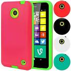 Armor Hybrid Case Shockproof Slim Fit Skin Hard Cover For Nokia Lumia 635 630