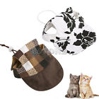 Cat Puppy Kitty Baseball Hat Summer Canvas Cap Only For Dog Cat Accessories