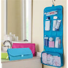 Lady Convenient Travel Wash Bag Toilet Hanging Toiletries Makeup Bag Folding