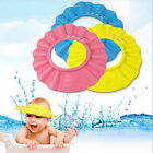 Useful Adjustable Baby Kids Shampoo Bath Bathing Shower Cap Hat Wash Hair Shield
