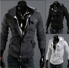 Father's Day Slim Fit Handsome Mens Long Sleeve Sweater Jacket Hoodies Coats