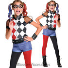 CK803 Girls Deluxe Harley Quinn Harleyquinn Joker Batman Gotham Fancy Costume