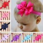 Lovely Kids Girl Baby Toddler Flower Headband Hair Bow Band Accessories Headwear