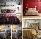 Stag Duvet Cover & Pillowcase Quilt Cover Bedding Bed Sets 4 Sizes New