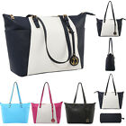 Simple Designer Women Tote Bag Leather Stylish Large Capacity Shoulder Handbags