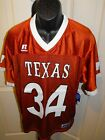 NEW Texas Longhorns #34 Adult Mens Sizes S-L Football Jersey