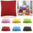 45x45cm Suede Nap Cushion Cover Home Sofa Decor Throw Pillow Case Pure Color EOP