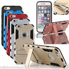 Iron Man PC Ultra-thin Shockproof Back Case Cover Kickstand For iPhone 6S Plus 5