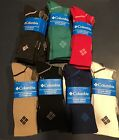 NWT Ladie's Columbia 3 Pack Crew Socks ~Various Colors~ Size 9-11