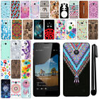 For Microsoft Nokia Lumia 550 PATTERN HARD Back Case Phone Cover + Pen