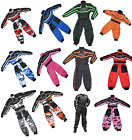 Kids wulfsport GO-KARTING RACE SUIT overalls motocross youth child pants wulf MX