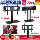 Adjustable Universal LCD LED Plasma VESA Mount Bracket Desktop Monitor TV Stand