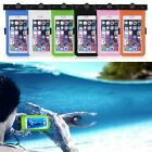 Waterproof Underwater Pouch Dry Bag Neck Armband Compass Case Cover For Phones