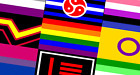 LGBT Rainbow Pride & Sexual Identity Flags 5'x3' (150cm x 90cm) - 45 Designs !