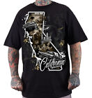 "DYSE ONE Clothing Kalifornien "" CA KAOS "" T-Shirt Tee black / schwarz"