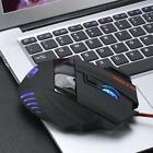 5500 DPI 7D LED Optical USB Wired PRO Game Mouse Mice For PC Laptop Compputer