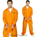 CL960 Escaped Prisoner Convict Mens Jail Guilty Criminal Outlaw Fancy Costume